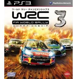 PS3 WRC 3 FIA World Rally Championship