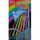 Giant Rainbow Pocky Odaiba Ltd - 1 box