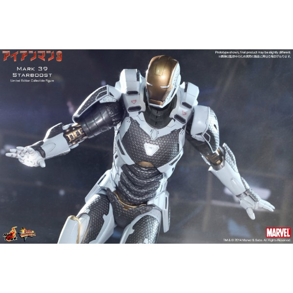 Iron Man 3 - Movie Masterpiece Mark 39 Starboost - Big in ...