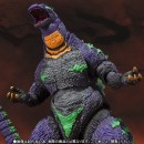 S.H. Monster Arts Godzilla feat.EVA-01