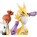 Digimon Tamers - G.E.M Series Renamon & Makino Ruki (ltd)