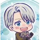 Yuri !! on Ice Tojikore Acrylic Keychains vol.2 (boite de 6)