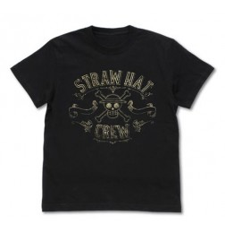 One Piece - Strawhat Crew Vintage Gold T-shirt