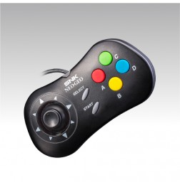 Neo Geo Mini Pad Black