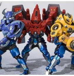Kamen Rider Build - Figuarts Zero Hokuto Sanbagarasu Set