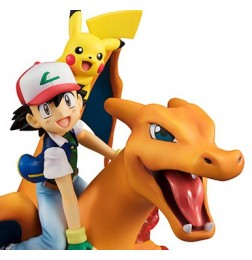 Pokemon - G.E.M Series Ash & Pikachuu & Charizard