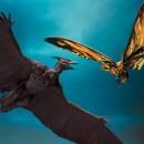 S.H. Monster Arts Mothra (2019) & Rodan (2019)