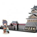 Yuru Camp (Laid-Back Camp) - Shima Rin & Suwa-Takashima Castle Plastic Kit