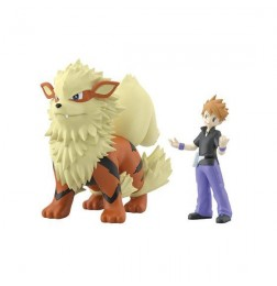 Pokemon Scale World Green & Arcanine Set
