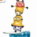 Despicable Me 3 - Minions on Surfboard Statue