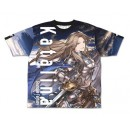Granblue Fantasy - Katalina Double-sided Full Graphic T-shirt