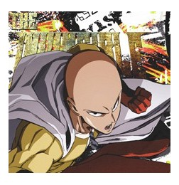 One Punch Man - Saitama Double-sided Full Graphic T-shirt