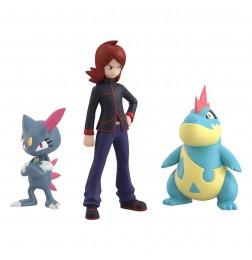Pokemon Scale World Johto Region Silver & Croconaw & Sneasel