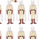One Punch Man - Saitama Pattern Full Graphic T-shirt