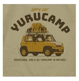 Yuru Camp - Toba-sensei & Chiaki & Aoi T-shirt