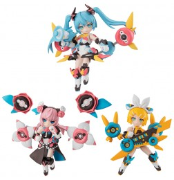 Desktop Singer Hatsune Miku Series (set of 3)