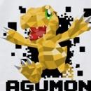 Digimon Adventure - Agumon Polygon Graphic T-shirt