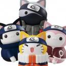 NARUTO - Nyanto mo Ooki na Nyaruto Series (set de 4)