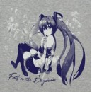Hatsune Miku T-shirt Jaku ver.