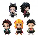 Demon Slayer: Kimetsu no Yaiba Tanjiro and the Pillars Mascot Set A