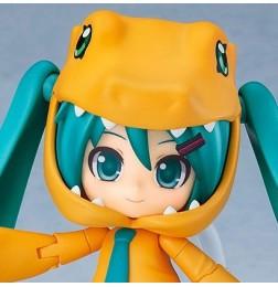 Hatsune Miku/Digimon Adventure - Nendoroid Hatsune Miku: Kigurumi Agumon Ver.