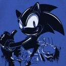 Sonic the Hedgehog Wall Paint T-shirt
