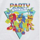 Sonic the Hedgehog - Party Animals Full Color T-shirt
