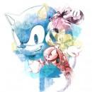 Sonic the Hedgehog - Fashion Pencil Full Color T-shirt