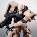 Mobile Suit Gundam 0083 : Stardust Memory - Robot Damashii (side MS)  MS-06F-2 Zaku II F2 E.F.S.F. ver. A.N.I.M.E.