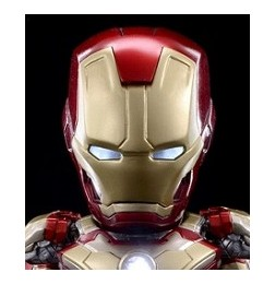 Iron Man 3 - Hybrid Metal Figuration Iron Man Mark 42