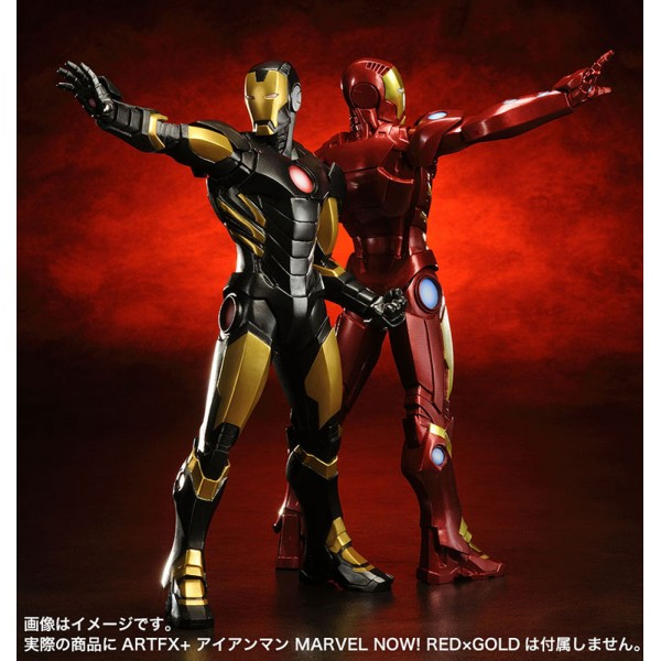 ARTFX+ Iron Man Black x Gold - Big in Japan