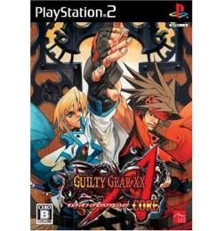 PS2 Guilty Gear XX Accent Core Plus