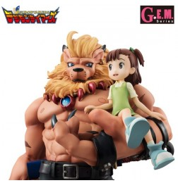 Digimon Tamers - G.E.M Series Leomon & Katou Juri