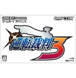 GBA Gyakuten Saiban 3 (Phoenix Wright: Ace Attorney - Trials and Tribulations)