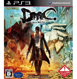 PS3 DmC Devil May Cry