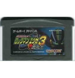 GBA Battle Network Rockman EXE 3 Black