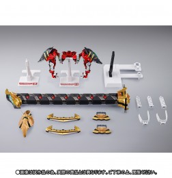 METAL BUILD Powered Red &150 Gerbera Straight (Power) Option Set