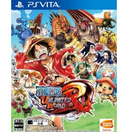 PSV One Piece : Unlimited World Red