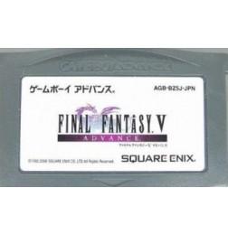 GBA Final Fantasy V Advance