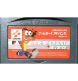 GBA Crash Bandicoot Advance