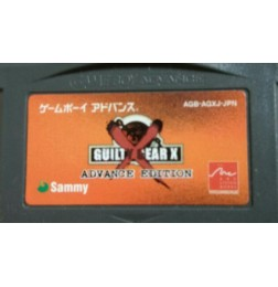 GBA Guilty Gear X : Advance Edition