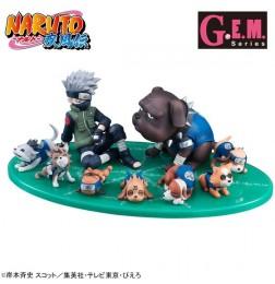 NARUTO Shippuden - G.E.M Series Hatake Kakashi & Ninken