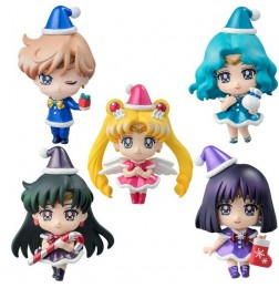 Sailor Moon - Petit Chara Christmas Special (Warriors of Outer Solar System Ed.) (box of 5)