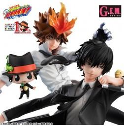 Kateikyoushi Hitman Reborn ! G.E.M Series Sawada & Hibari Set (w/ bonus)