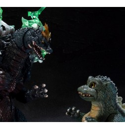 S.H Monster Arts Space Godzilla vs Little Godzilla Special Color ver.