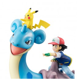 Pokemon - G.E.M Series Ash & Pikachu & Lapras