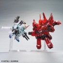 BB Senshi Full Armor Unicorn Gundam & Neo Zeong (Clear Color)