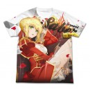 Fate/EXTRA Last Encore - Saber Full Graphic T-shirt