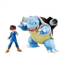 Pokemon - G.E.M Series Shigeru (Gary) & Kamex (Blastoise) & Zenikame