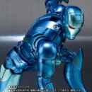 Iron Man - S.H. Figuarts Iron Man Mark 3 Blue Stealth Color